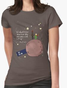 Doctor who meet a little prince Womens Fitted T-Shirt