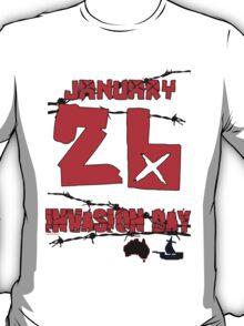 January 26 Invasion Day T-Shirt