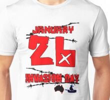 January 26 Invasion Day Unisex T-Shirt