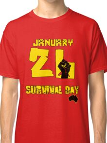 January 26 Survival Day Classic T-Shirt