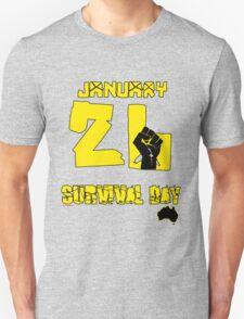 January 26 Survival Day Unisex T-Shirt