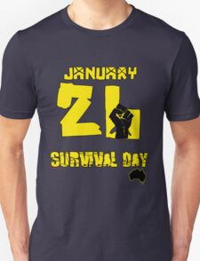 January 26 Survival Day T-Shirt