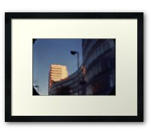 Pinhole Experiments: Architecture Framed Print