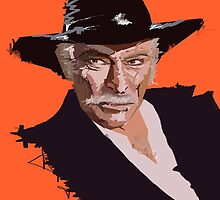 Lee Van Cleef by Alberto Marinelli