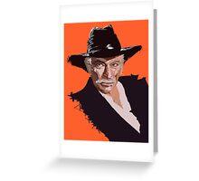 Lee Van Cleef Greeting Card