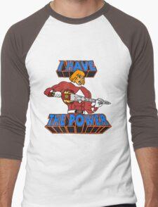 He-Man / Power Rangers 'I Have The Power' Men's Baseball ¾ T-Shirt