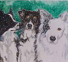 Winter Study by Cynthia Brewster