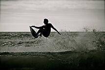 Surfing the Silhouette  by Helen Vercoe