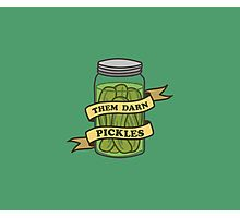Them darn pickles Photographic Print