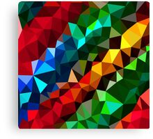 Abstract  multi colored Canvas Print