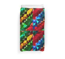 Abstract  multi colored Duvet Cover