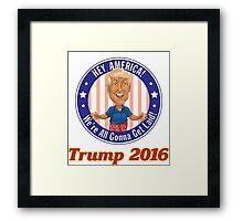 Trump 2016! Framed Print
