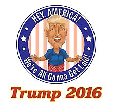 Trump 2016! Photographic Print