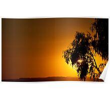 Latrobe Valley Sunset Poster