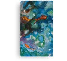 Goldfish Pleasures Canvas Print