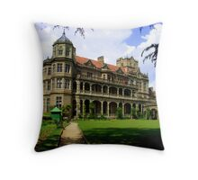 british architecture Throw Pillow