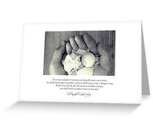 In The Twilight Of Memory Greeting Card