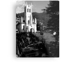 church in shimla Metal Print