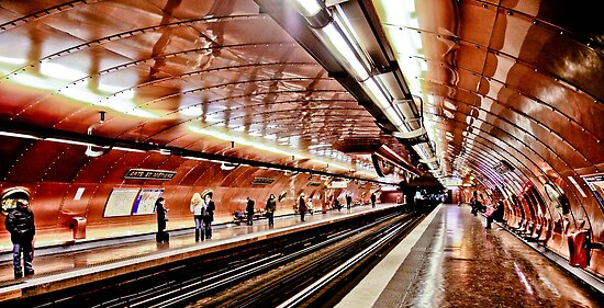 Arts et Metier Metro station by Alex Howen