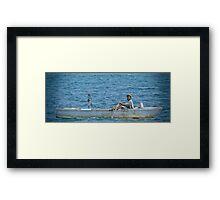 Jamaican Fisherman Framed Print