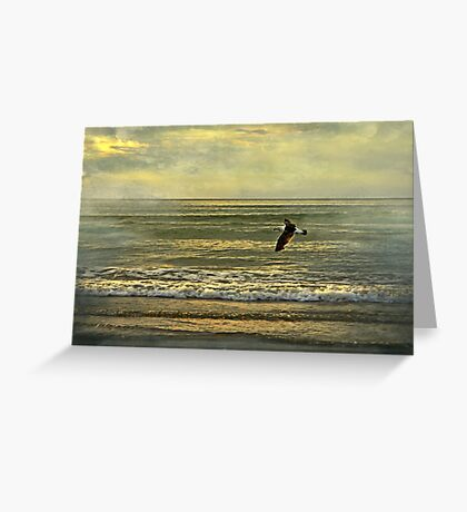 """""""What my eyes have seen ..."""" Greeting Card"""