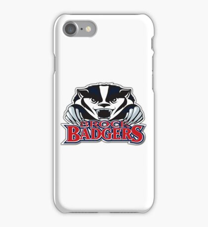 Brock Badger Logo iPhone Case/Skin