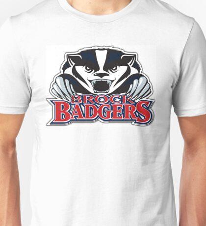 Brock Badger Logo Unisex T-Shirt