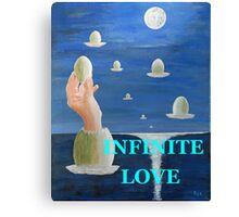 INFINITE  LOVE Canvas Print