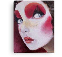 Clown her Canvas Print