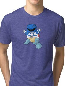 Blue Ever Evolvin PokeRanger Tri-blend T-Shirt