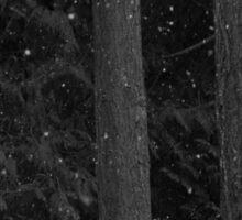 Snow Falling Sticker