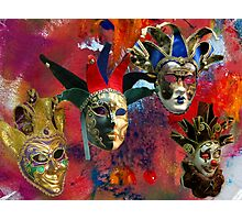 Masked Abstract Photographic Print