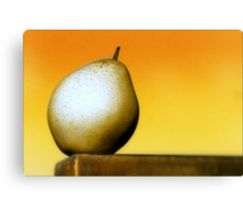 Pear of One Canvas Print