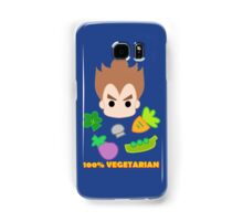 Vegeta - 100percent vegetarian Samsung Galaxy Case/Skin