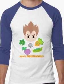 Vegeta - 100percent vegetarian Men's Baseball ¾ T-Shirt