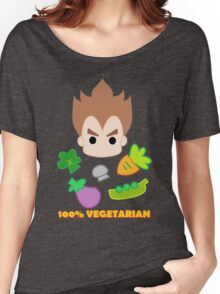 Vegeta - 100percent vegetarian Women's Relaxed Fit T-Shirt