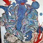 Blue Buddha by Marti   Schmidt