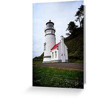 Heceta Head Lighthouse - The Compass Greeting Card