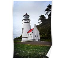 Heceta Head Lighthouse - The Compass Poster