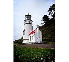 Heceta Head Lighthouse - The Compass Photographic Print