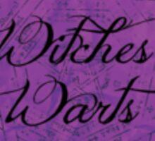 Witches Warts Sticker