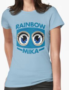 RAINBOW MIKA Womens Fitted T-Shirt