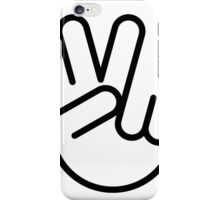 Vector peace iPhone Case/Skin