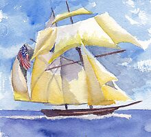 The Pride of Baltimore III by Phyllis Dixon