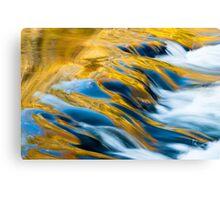 Golden Stream Canvas Print