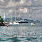 Approaching Cruz Bay by Roland Pozo
