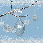 Christmas Snowflakes by Maria Dryfhout