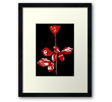 Violator Rose (Depeche Mode) Framed Print