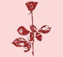 Violator Rose (Depeche Mode) One Piece - Short Sleeve