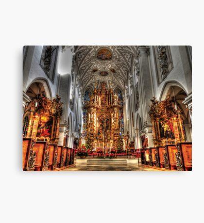 Alter - Landsberg am Lech Cathedral Canvas Print
